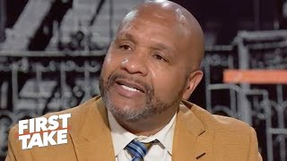 Hue Jackson explains what happened with Colin Kaepernick's private NFL workout | First Take