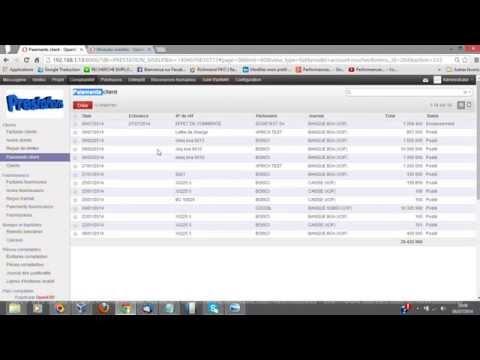 Amélioration Gestion des titres de paiements OpenERP