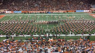Texas Longhorn Band & Texas Tech Goin Band Combined 1812 Overture 11/24/17