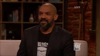 Talking Dead - Khary Payton (King Ezekiel) on meeting the cast