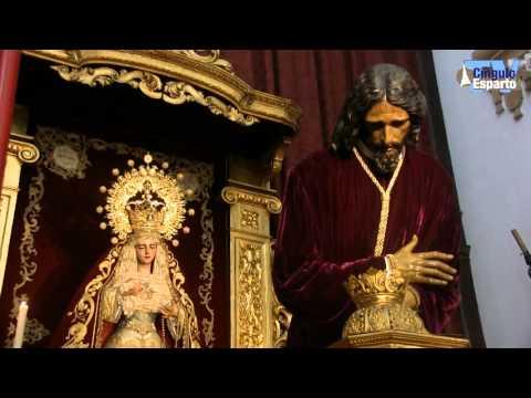 Besapies al Señor de las Penas de San Roque