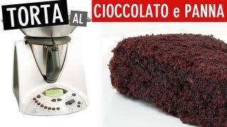 Torta Cioccolato E Panna Bimby Youtube