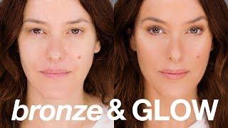 Instant 'Bronze & Glow' Beauty Makeup