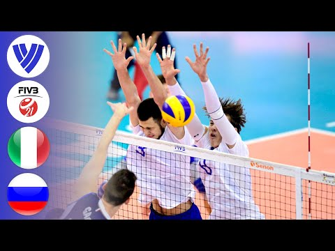 Italy vs. Russia | Full Semifinal | Men's Volleyball U21 World Championships 2019