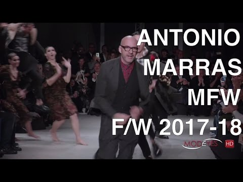 ANTONIO MARRAS | FALL WINTER 2017- 2018 | Exclusive Backstage + Interview + Full Fashion Show