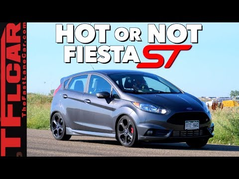 Is the 200 HP Ford Fiesta ST Faster Than the VW GTI? Hot or Not Review