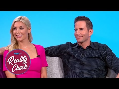 See Tarek El Moussa And New Girlfriend Heather Young In Their First Interview Together! | PeopleTV