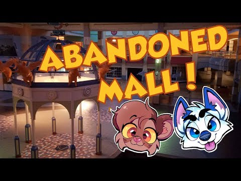 Furries at an ABANDONED MALL!!