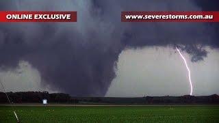Storm Chase & Spotting - Pilger Nebraska Tornado - 16th June 2014