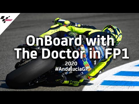 OnBoard with The Doctor in FP1 | #AndaluciaGP 2020