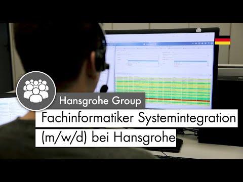 Fachinformatiker Systemintegration (m/w) | Das sagen Auszubildende bei Hansgrohe