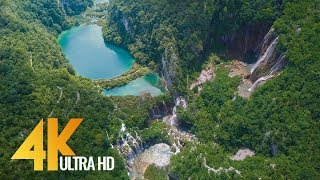 4K Drone Footage - Bird's Eye View of Croatia, Europe - 3 Hour Ambient Drone Film