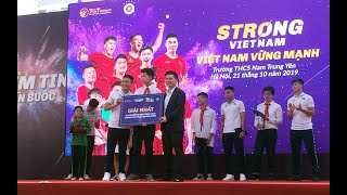 """Quang Hải vô địch """"Ai là triệu phú"""" của Strong Vietnam 2019"""