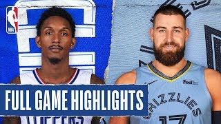 CLIPPERS at GRIZZLIES | FULL GAME HIGHLIGHTS | November 27, 2019