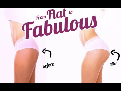 How To Get a Rounder Butt (FROM FLAT TO FABULOUS!!)