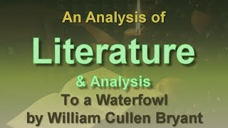 An analysis of the poem thanatopsis by william cullen bryant