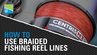 Video thumbnail for HOW TO Use Braided Fishing Reel Lines! Preston Innovations Match Fishing Videos