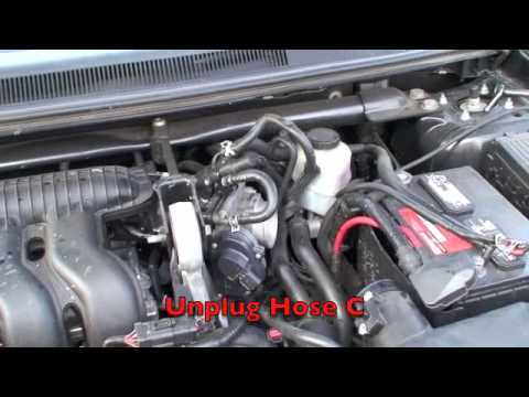2005 ford freestyle throttle body youtube. Black Bedroom Furniture Sets. Home Design Ideas