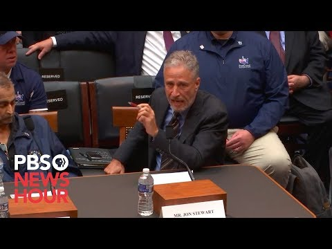 WATCH: Jon Stewart says Congress 'should be ashamed' over inaction on helping 9/11 first responders