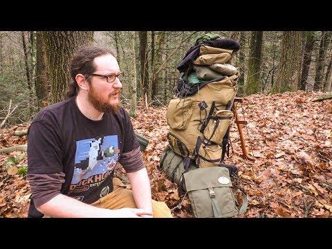 Bushcraft Kit Rundown - Ruck, Wool Blanket, Axe, Winter Gear   Self Reliance