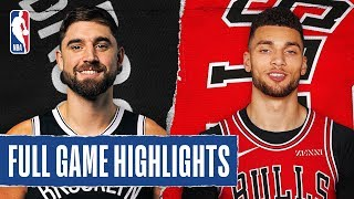 NETS at BULLS | FULL GAME HIGHLIGHTS | November 16, 2019