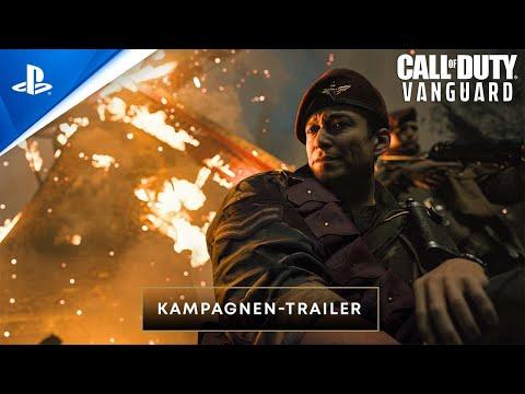 Call of Duty: Vanguard - Kampagnen Trailer   PS5, PS4, deutsch