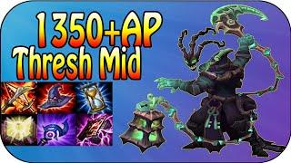 1350+ Full AP THRESH - 2k Dmg Ulti [Ger]