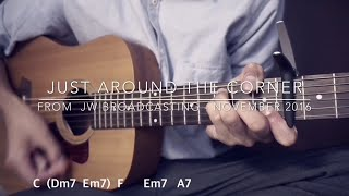 Jut Around the Corner (1min. guitar tutorial w/ chords) / JW Broadcasting - Nov 2016