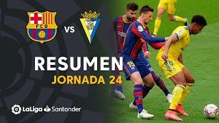 Resumen de FC Barcelona vs Cádiz CF (1-1)