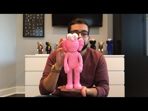 "Is It Stupid To Buy $300 KAWS ""Toys""???  KAWS BFF UNBOXING!!! (Pink)"