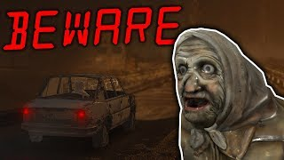 I Ran Over the Old Lady While Being Chased! - Beware Update Gameplay - Scary Car Game