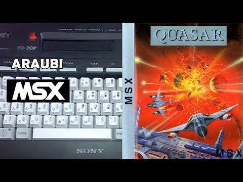 Quasar (Tynesoft, 1986) MSX [665] Walkthrough Comentado
