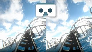 Virtual Reality Roller Coaster for VR Box & Google Cardboard: 3D SBS Underwater Park
