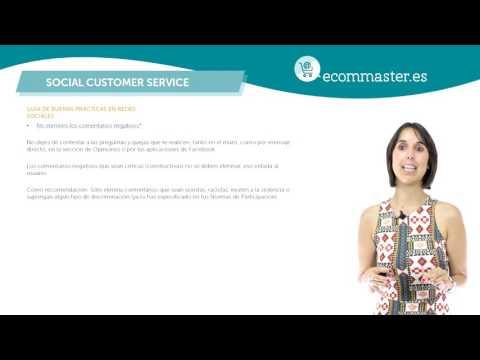 Curso Community Manager 1/5 Guía de buenas prácticas en RRSS Social Customer Service