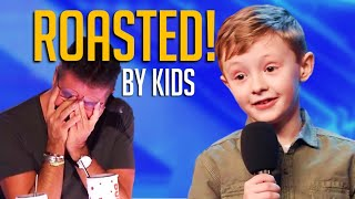 Ouch! SAVAGE Kid Comedians RIP Into Simon Cowell And The Judges On Got Talent