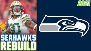 Seattle Seahawks REBUILD | 2021 NFL Free Agency | 2021 NFL Draft (Seahawks Offseason 2021)