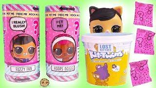 LOL Surprise Talking Interactive LIVE Pet Blind Bags + Lost Twin Kitties