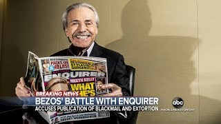 Jeff Bezos Accuses 'National Enquirer' Publisher Of Blackmail & Extortion