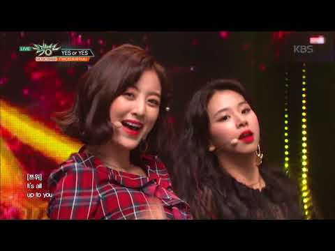 뮤직뱅크 Music Bank - YES or YES - TWICE(트와이스).20181123