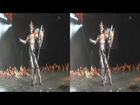 (3D) Cosplay Gladiator Asmodian, Aion: The Tower of Eternity  (Tower of Aion)
