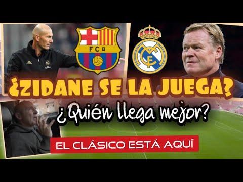 BARCELONA VS REAL MADRID. ¿CÓMO LLEGAN? ¿QUIÉN GANA?¿SE LA JUEGA ZIDANE? #MundoMaldini
