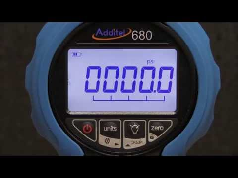 Additel 680W Wireless and Data Logging Setup