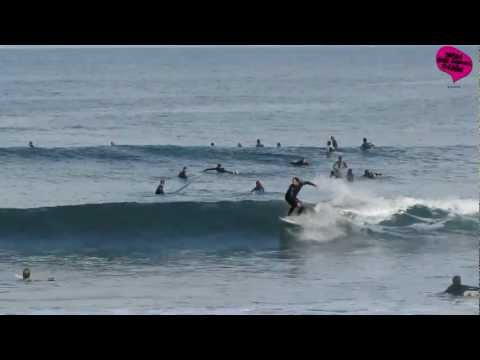 Surf en Gijón La Derecha del Balneario otoño 2011