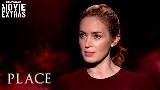 A QUIET PLACE (2018) Emily Blunt talks about her experience making the movie