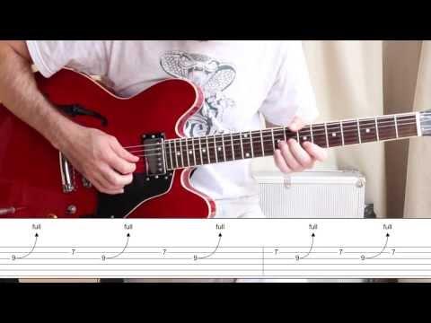 Johnny B.Goode - Como tocar un solo de guitarra histórico - Chuck Berry Guitar Lesson