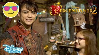 Descendants 2 | Behind the Scenes With Dizzy - Part 2 🎬 | Disney Channel UK