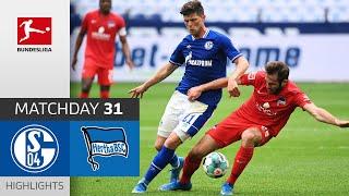 FC Schalke 04 - Hertha Berlin | 1-2 | Highlights | Matchday 31 – Bundesliga 2020/21