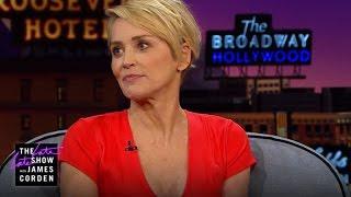 Sharon Stone Gets Massages Through an App