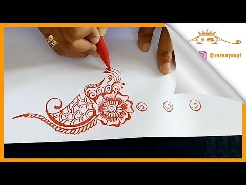 Cara Menggambar Simple Henna Videomoviles Com