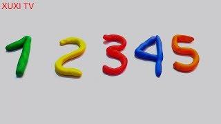 Bé học đếm số| Đếm số từ 1 đến 5|Learn to Count Numbers 1 to 5 123 for Kids Children|xuxi TV